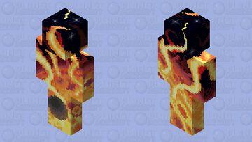 Sun and Mercury Minecraft Skin