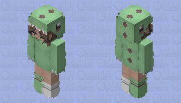 Dino Costume Minecraft Skin