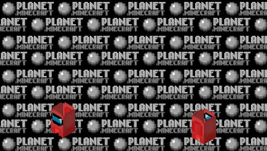 𝔸𝕞𝕠𝕟𝕘 𝕦𝕤 |  ℝ𝔼𝔻 Minecraft Skin