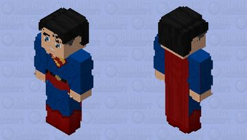 Superman (Yellow Emblem): Crisis on Infinite Earths Minecraft Skin