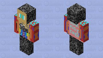 challenge to other skin makers see desc Minecraft Skin
