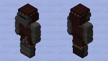 Red Lioness Knight lady (Vale) Minecraft Skin