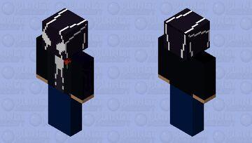 venom in a tuxeto Minecraft Skin