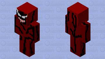 Cletus Kasady (Carnage) Minecraft Skin
