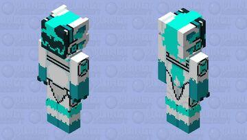 +18 Protogen Minecraft Skin