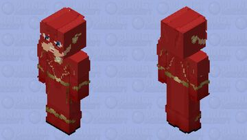 The Flash: The Flash Season 6 Minecraft Skin