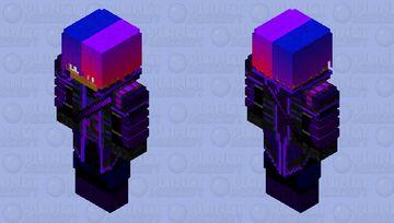 The Unknown (Unmasked) Minecraft Skin