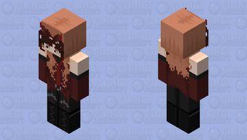 Scarlet Witch - HD Minecraft Skin