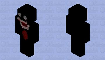 Is this scary?, yes or no? Minecraft Skin