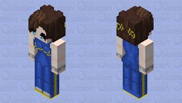 Chun li Fortnite Minecraft Skin