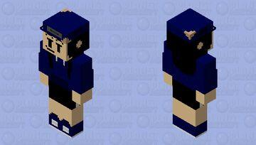 cassette girl Minecraft Skin