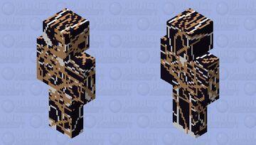 venom badel dameged suit Minecraft Skin