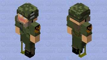 Crazy Willie Custom Minecraft Skin