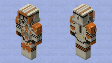 Commander Cody, Hd. Minecraft Skin