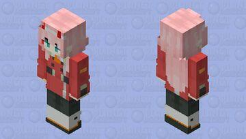 Zero two Minecraft Skin