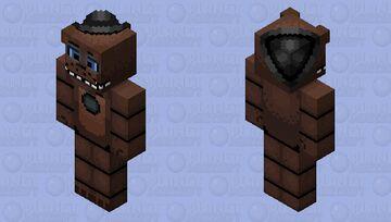 HD Lonely Freddy Minecraft Skin