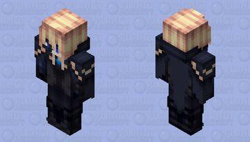 Genshin impact dainsleif [With Cape] Minecraft Skin