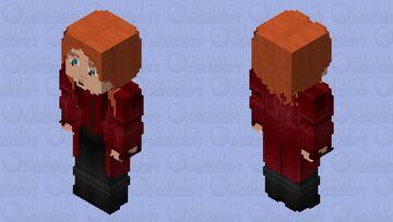 Scarlet Witch: Captain America: Civil War Minecraft Skin