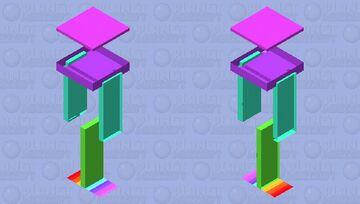 Rainbow (Male/Female) Minecraft Skin