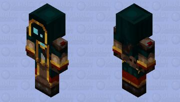 The Wanderer, Mystic-Edition Revamped (For McMeddon) Minecraft Skin