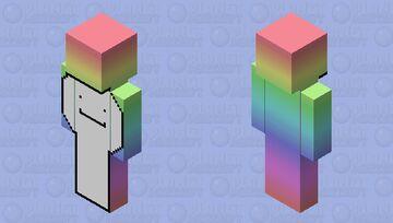 Rainbow Dream 🌈 Minecraft Skin
