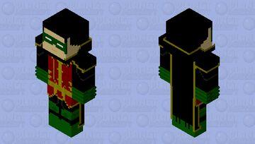 Robin Damian Wayne(Rebirth) Minecraft Skin