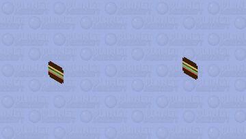 Cheese Burger Minecraft Skin