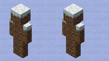 Snowy Grass Minecraft Skin