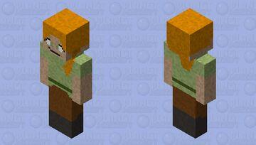 Realistic alex Minecraft Skin