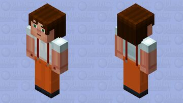 Male Jesse Prison Suit 1 (Story Mode) Minecraft Skin