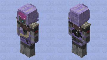 Tali Mass Effect HD Minecraft Skin