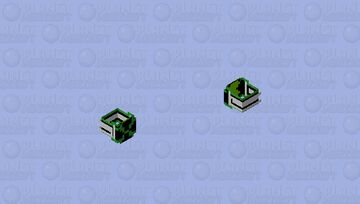 The Omnitrix - Ben 10 Omniverse HD Minecraft Skin