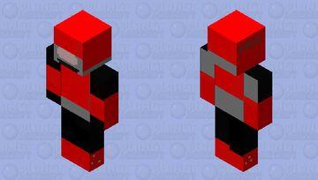 tex robot from t h x moooooooooooooooooooooooooo can logo Minecraft Skin