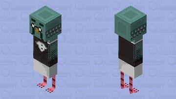 Brewster - Animal Crossing Minecraft Skin