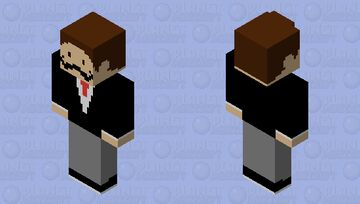 l' stache Minecraft Skin
