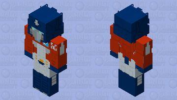 Optimus Prime Minecraft Skin