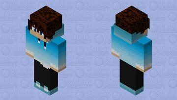 Fade blue (Male Skin) Minecraft Skin
