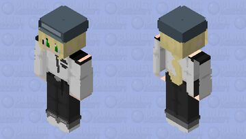 Vanessa The Guard (FNAF Security Breach) Minecraft Skin