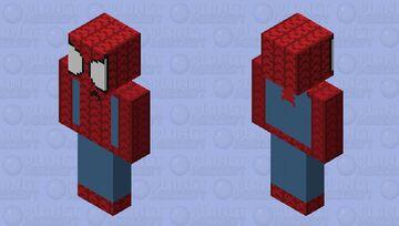 The Amazing Spider-Man Minecraft Skin
