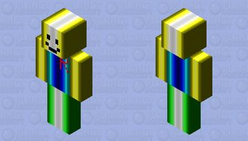 Roblox Noob HD Minecraft Skin