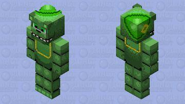 HD Shamrock Freddy Minecraft Skin