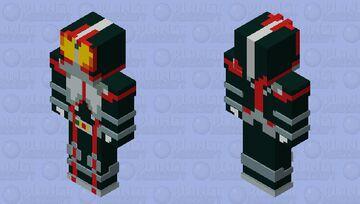 kamen rider 555 /faiz Minecraft Skin