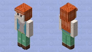 Frithua Islywn 128x128 OC Minecraft Skin
