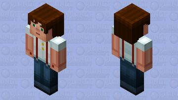 Male Jesse with Sleeves up (Story Mode) Minecraft Skin