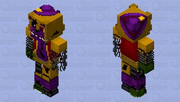 Withered Cryon the Bear Minecraft Skin