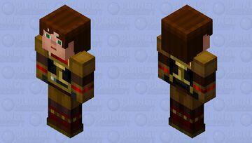 Male Jesse in Ellegaard's Armor (Story Mode) Minecraft Skin