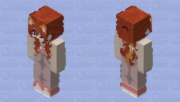 Kitty Mushroom Girl Minecraft Skin