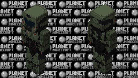 DoomSlayer Minecraft Skin