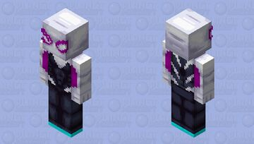 Spider Gwen Minecraft Skin