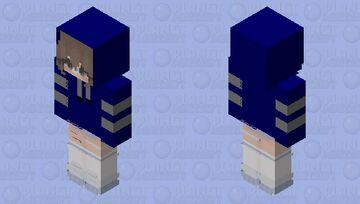 MY SIS IN MY ONE YEAR  HOODIE :3 Minecraft Skin